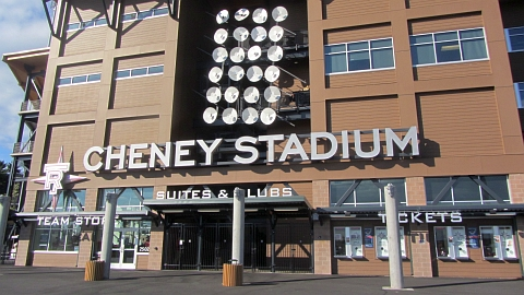 "Cheney Stadium, the home of the Rainiers, is pronounced ""Cheeny."""